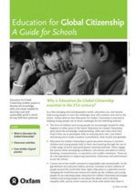 Oxfam curriculum for Global Citizenship